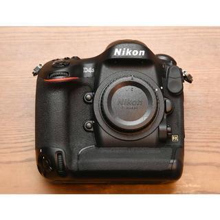 ニコン(Nikon)のニコン「D4s」ボディ 美品 (完動品) ショット数106,000回以下(デジタル一眼)
