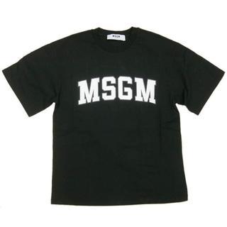 エムエスジイエム(MSGM)の新品 MSGM エムエスジーエム オーバーサイズ ロゴ Tシャツ(Tシャツ(半袖/袖なし))