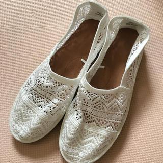 ジーユー(GU)のgu 靴 エアリーエスパドリーユXL白(その他)