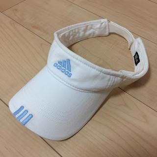 アディダス(adidas)のadidas☆サンバイザー(サンバイザー)