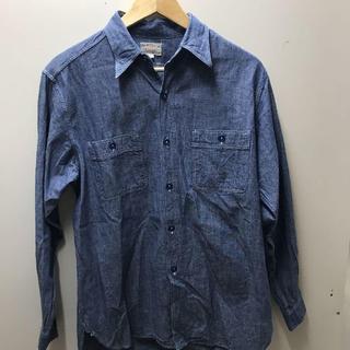 バズリクソンズ(Buzz Rickson's)のBUZZ RICKSON &Co.INCシャンブレーシャツ M-O2096(シャツ)