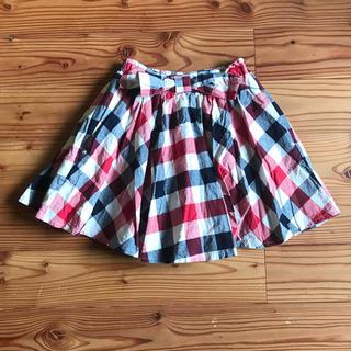 シマムラ(しまむら)のLa Petit Lilly チェックスカート 140(スカート)