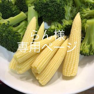 らん様専用ページ ヤングコーン (野菜)