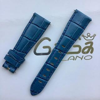 ガガミラノ(GaGa MILANO)の新品 GaGa MILANO ガガミラノバンド 交換 40ミリ用 青(レザーベルト)