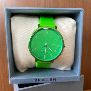 SKAGEN - SKAGEN スカーゲン AAREN KULOR 36mm ネオングリーン