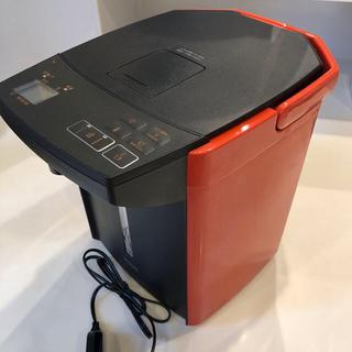 タイガー(TIGER)のタイガー 電気ポット とく子さん PIJ-A220 バーミリオン(電気ポット)