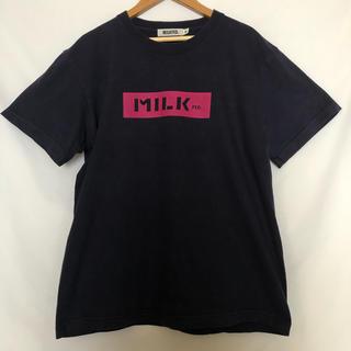 ミルクフェド(MILKFED.)のmilkfed ミルクフェド ボックスロゴ ロゴT Tシャツ(Tシャツ(半袖/袖なし))