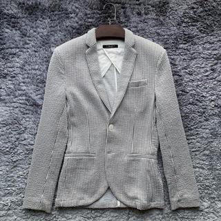 ザラ(ZARA)の夏に爽やかな白ジャケット!ZARAジャケット サイズS(テーラードジャケット)
