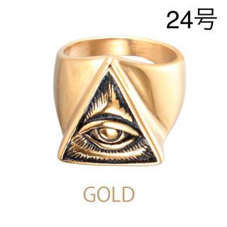フリーメイソン   リング 24号 プロビデンス ピラミッド  都市伝説 ロック(リング(指輪))