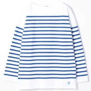 オーシバル(ORCIVAL)のORCIVAL/オーシバル ラッセルボーダー長袖Tシャツ サイズ5(Tシャツ/カットソー(七分/長袖))