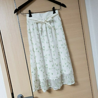 GU - 美品 GU 子供 女の子 チュールスカート 150cm