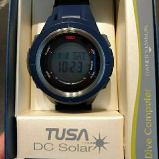 ツサ(TUSA)のTUSA ツサ DCソーラー ダイブコンピューター IQ1202 NBL (マリン/スイミング)