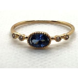 タンザナイト18kコーティング指輪(リング(指輪))