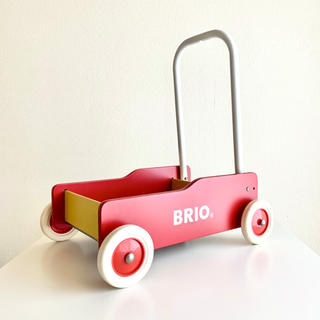 ブリオ(BRIO)のBRIO (ブリオ) 手押し車 赤(手押し車/カタカタ)