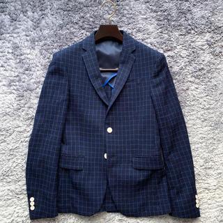 ZARA - 丁寧に作られたウインドペン柄のジャケット!ZARAジャケット サイズ46