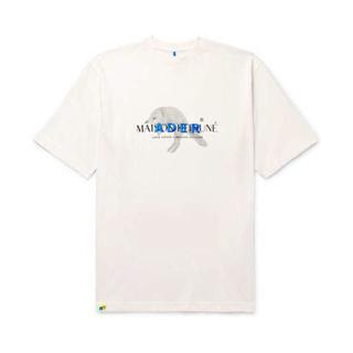 メゾンキツネ(MAISON KITSUNE')のMAISON KITSUNE × Ader Error Tシャツ(Tシャツ/カットソー(半袖/袖なし))