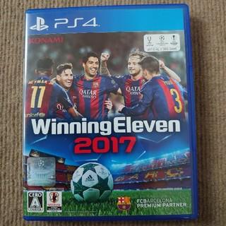 プレイステーション4(PlayStation4)のウイニングイレブン 2017 PS4 初期動作確認済(家庭用ゲームソフト)