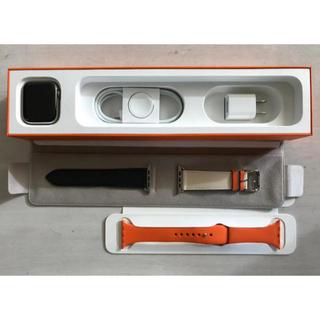 エルメス(Hermes)のapple watch series4 HERMES GPS+cellular(腕時計(デジタル))