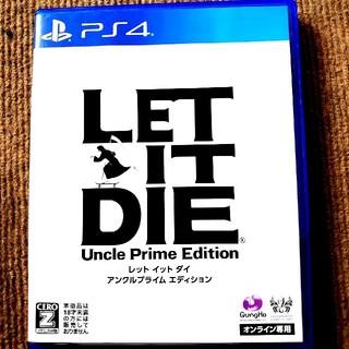 プレイステーション4(PlayStation4)のLET IT DIE レット イット ダイ PS4 初期動作確認済(家庭用ゲームソフト)