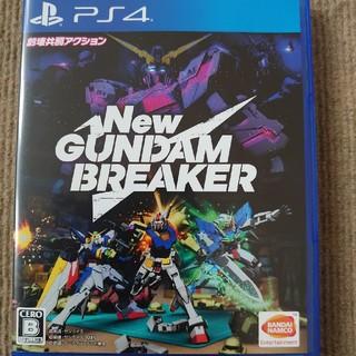 プレイステーション4(PlayStation4)のNew ガンダムブレイカー PS4 初期動作確認済(家庭用ゲームソフト)