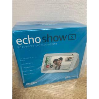 エコー(ECHO)のAmazon echo show 5 【新品未開封】(スピーカー)