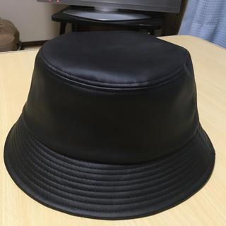 ハレ(HARE)のバケットハット 帽子 黒(ハット)