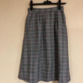 エニィスィス(anySiS)の新品・未使用 anysis チェックスカート(ひざ丈スカート)