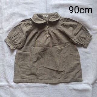 ラーゴム(LAGOM)のシャツ 90cm(ブラウス)
