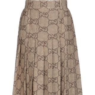 グッチ(Gucci)のsummer  GUCCI  スカート 40(ひざ丈スカート)