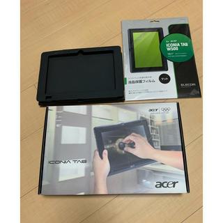 エイサー(Acer)のacer ICONIA TAB-W500(タブレット)