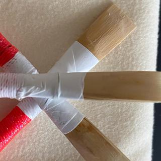 リード職人製作イングリッシュホルン完成リード3本セット(オーボエ)