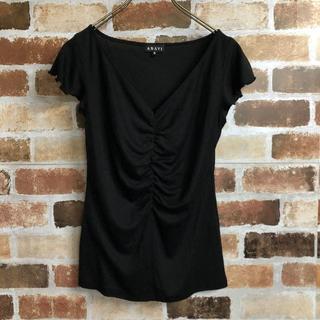アナイ(ANAYI)の【ANAYI】フリルスリーブギャザーデザインカットソー(Tシャツ(半袖/袖なし))