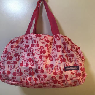 ディズニー(Disney)のミニーちゃんミニボストンバッグ入りボストンバッグ折りたたみ可能検スポーツ旅行部活(ボストンバッグ)