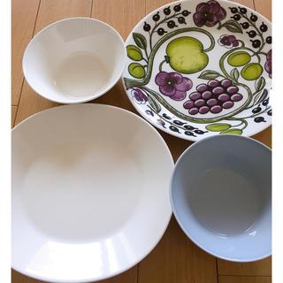 イッタラ(iittala)の4枚セット【イッタラ アラビア プレート】皿 パラティッシ(食器)