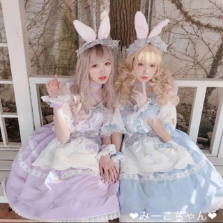 アンジェリックプリティー(Angelic Pretty)のAlice in Wonderland ワンピースフルセット しゅくれどーる (ミニワンピース)