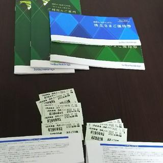 サイタマセイブライオンズ(埼玉西武ライオンズ)の西武鉄道株主優待券 1100株分(鉄道乗車券)