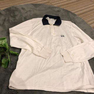 ディオール(Dior)の[Dior]白ポロシャツ(シャツ/ブラウス(長袖/七分))