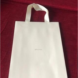 シロ(shiro)の紙袋(ショップ袋)