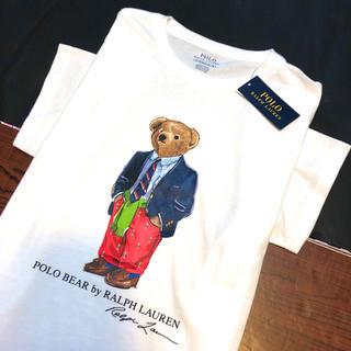 ポロラルフローレン(POLO RALPH LAUREN)のポロ ラルフローレン ポロベアー 半袖 Tシャツ 白 スーツ正装 新品 ブランド(Tシャツ(半袖/袖なし))