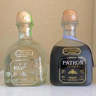 パトロンテキーラ シルバー&XOカフェ 2本セット(蒸留酒/スピリッツ)
