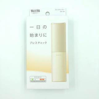 タニタ(TANITA)のブレスチェッカー(アイボリー)(口臭防止/エチケット用品)