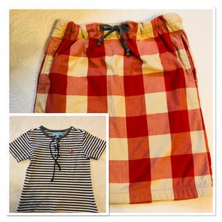 スカート Tシャツ 110(Tシャツ/カットソー)