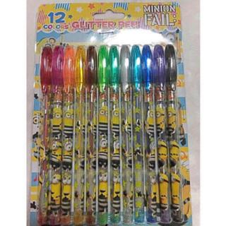 ミニオン(ミニオン)のミニオン  グリッター ペン 12色セット(ペン/マーカー)