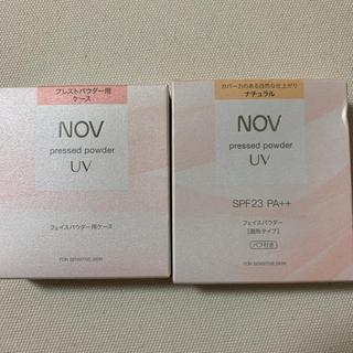 ノブ(NOV)のNOV プレストパウダーUV(フェイスパウダー)