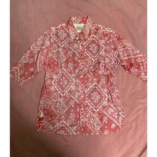 アナクロノーム(anachronorm)のシャツ 半袖(シャツ)