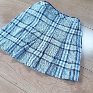 バーバリー(BURBERRY)のBURBERRY チェック スカート 80(スカート)