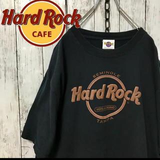 ハレ(HARE)のHARD ROCK CAFE レザーパッチ ビックTシャツ ハードロックカフェ(Tシャツ/カットソー(半袖/袖なし))