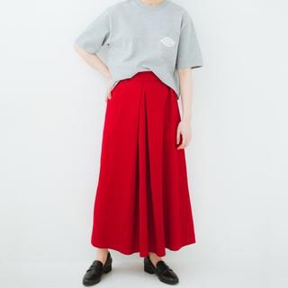 ハコ(haco!)の【KAMIKO様専用】haco !  タックボリュームのチノロングスカート(ロングスカート)