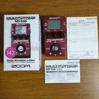 ズーム(Zoom)のzoom MS-60B 超美品(ベースエフェクター)