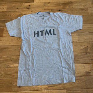 エイチティーエムエル(html)のHTML Tシャツ(Tシャツ/カットソー(半袖/袖なし))